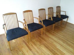 Set of five Henredon captains chairs for sale for Sale in St. Louis, MO
