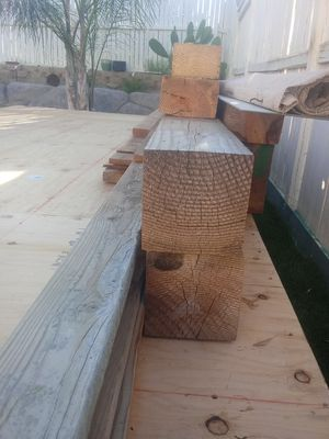 6x6x10ft long two ea. for Sale in Menifee, CA