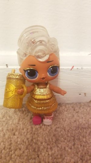 Lil doll Golden lol doll for Sale in Lake in the Hills, IL