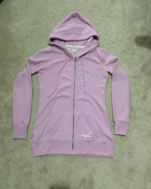 Hollister Full-Zip Graphic Tunic Hoodie XS for Sale in Fort Worth, TX