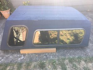 Black Camper Shell (Fits 6ft bed) Make an offer! for Sale in Vancouver, WA
