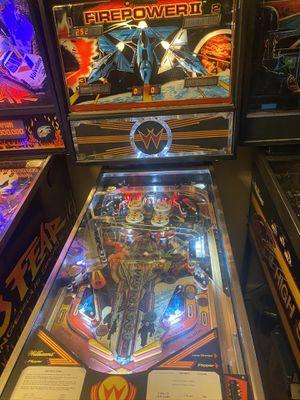 Firepower 2 pinball machine. for Sale in Phoenix, AZ