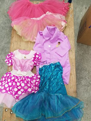Halloween or dress up Assortment of size 3T-4T costumes - 5 items. for Sale in Renton, WA