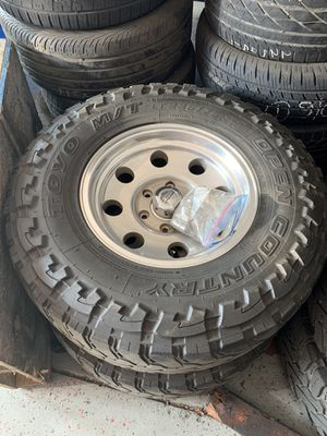 Chevy rims & tire for Sale in Elk Grove, CA