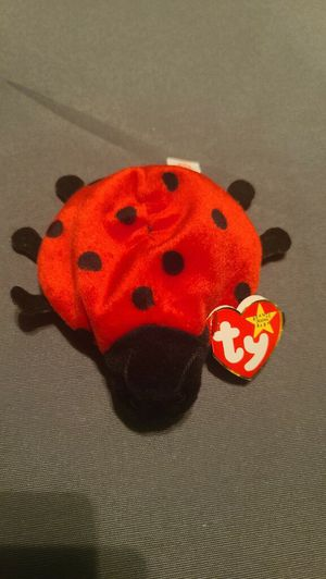 Ry beanie baby Lucky the ladybug date on tag May 1, 1995 for Sale in Manassas, VA