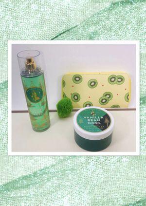 BATH & BODY WORKS * brand VANILLA BEAN NOEL SCENT 3 piece gift set! NEW! for Sale in Carrollton, TX