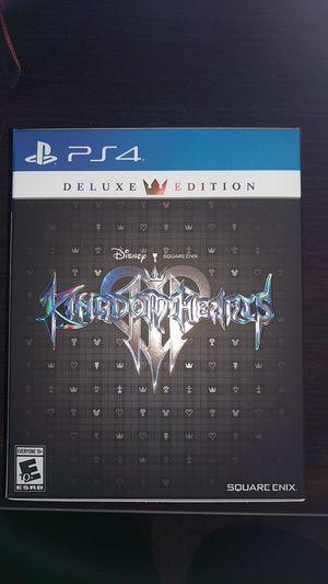 Kingdom hearts 3 deluxe edition for Sale in Vancouver, WA