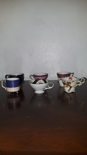 Antique tea cups Japan 401 hand-painted Craftsman China for Sale in Fresno, CA