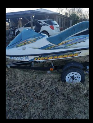 99 Tigershark w/trailer for Sale in Charleston, MS