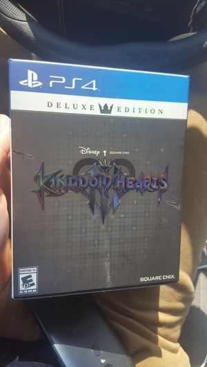 Kingdom hearts 3 deluxe edition for Sale in Gardena, CA