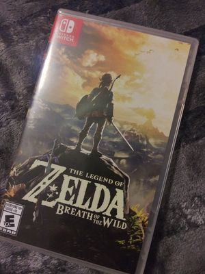 The Legend of Zelda Breath of the Wild Nintendo Switch for Sale in Los Angeles, CA