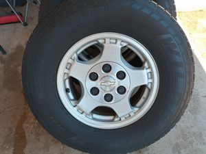 Chevy tires 16. All four for 400.0 for Sale in Hesperia, CA