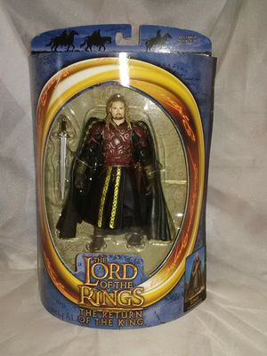 Toybiz Lord of the rings Eomer action figure new in the box for Sale in Wichita, KS