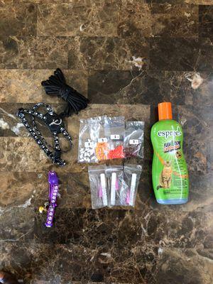Cat Flea & tick / Collar / harness / nail caps for Sale in Vallejo, CA