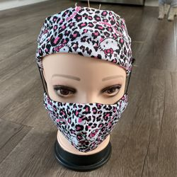 Face Mask With Headband Hello kitty for Sale in Long Beach,  CA