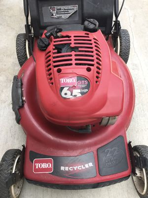 Lawn mower toro with transmission it works excellent for Sale in Los Alamitos, CA