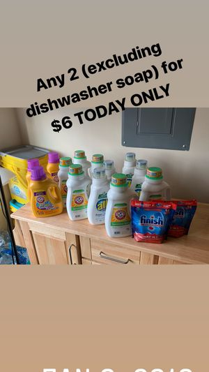 Laundry Detergent for Sale in Mount Rainier, MD