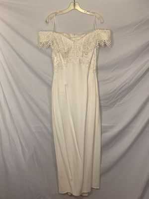 White off the shoulder Dress for Sale in San Leandro, CA