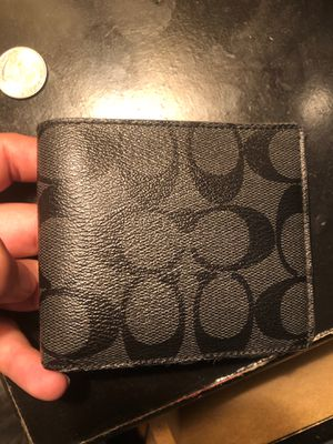 Men's Coach Wallet used for Sale in Houston, TX