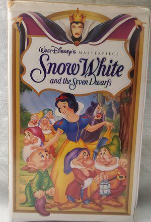 Disney's Snow White VHS for Sale in Cooper City, FL