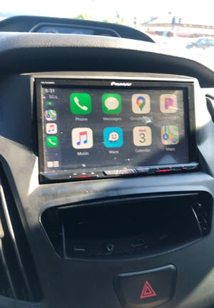 Ford Focus ST Pioneer nex4500 removable face double din Apple play apps and screen mirroring for Sale in San Leandro, CA