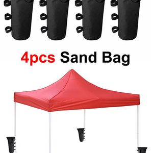 Brand New $15 (Pack of 4) Canopy Weight Bags for EZ Pop Up Tents (Bag only, Sand and Tent not included) for Sale in Whittier, CA