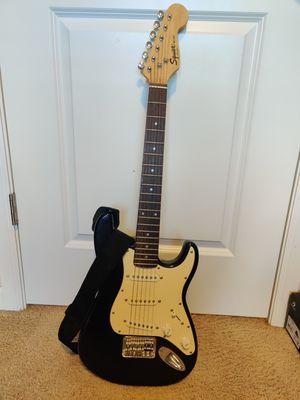 Electric guitar Fender Squire Mini, stratocaster for Sale in Everett, WA