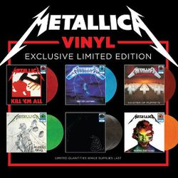 Metallica - All 6 Walmart Exclusive Limited Colored Vinyl Record LP Set for Sale in Tukwila,  WA