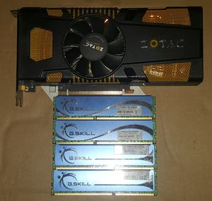 Entry level desktop gaming pc parts. 16gb ram gtx gpu. for Sale in Mesa, AZ