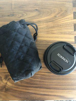 Rokinon E Mount for Sony Camera for Sale in Las Vegas, NV