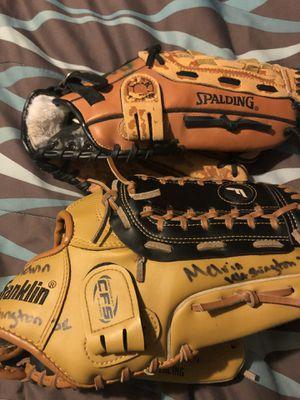 Baseball Gloves $15 each for Sale in Smyrna, GA