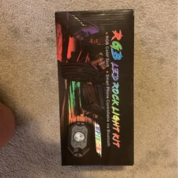 RGB LED ROCK LIGHT KIT BRAND NEW for Sale in Greenwood,  IN