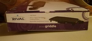 Rival Griddle for Sale in Fort Washington, MD
