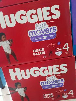 HUGGIES LITTLE MOVERS SIZE 4 A $30 CADA UNO PRECIO FIRME for Sale in Santa Ana, CA