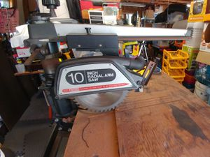 """Craftsman 10"""" Radial Arm Saw for Sale in Spring Valley, CA"""