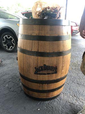 Jack Daniels whiskey barrel for Sale in Shelbyville, TN