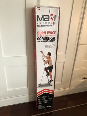 MaxiClimber Home Gym Equipment / New! for Sale in Seattle, WA