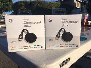 Chromecast Ultra (2) for Sale in San Diego, CA