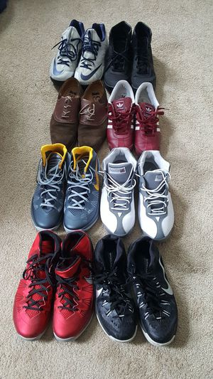 6 pairs of Nike's, 1 pair of Adidas and 1 pair of 1901 Dreso for Sale in Baltimore, MD