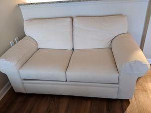 Small cream sofa for Sale in Denver, CO