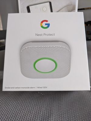 Brand New, never used, WIRED Nest Protect smoke detector for Sale in Clovis, CA