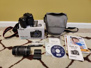 CANON 70D SLR Camera with 18-135mm Lens kit PLUS BAG AND ACCESSORIES Like New for Sale in KNG OF PRUSSA, PA