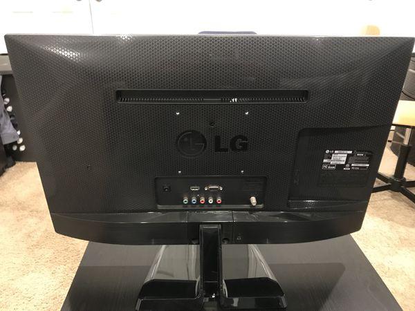 """LG 24"""" HD TV"""