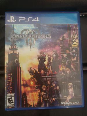 Kingdom Hearts 3 PS4 for Sale in La Puente, CA