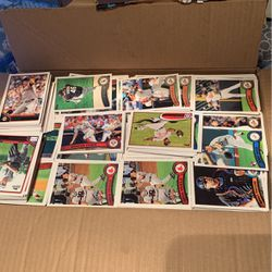 Box Of Baseball Cards, 4500+ Cards 2010-2014 Topps for Sale in Puyallup,  WA