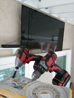 Brackets for all size tvs. With Installation for Sale in Pomona, CA