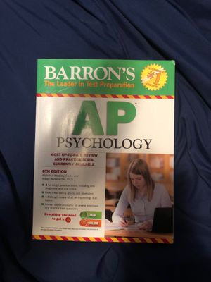 AP Psychology AP Test Prep Book for Sale in Appleton, WI
