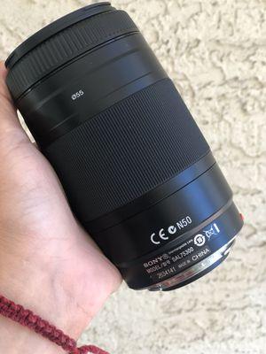Sony SAL 75300 lens for Sale in Las Vegas, NV