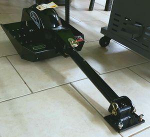 NEW Bradley Mowers One Wheel Sulky: Lawn Mower Ride On Conversion for Sale in Burlington, NJ