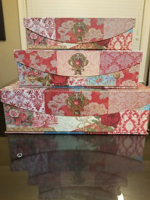 Decor boxes for Sale in Wellford, SC